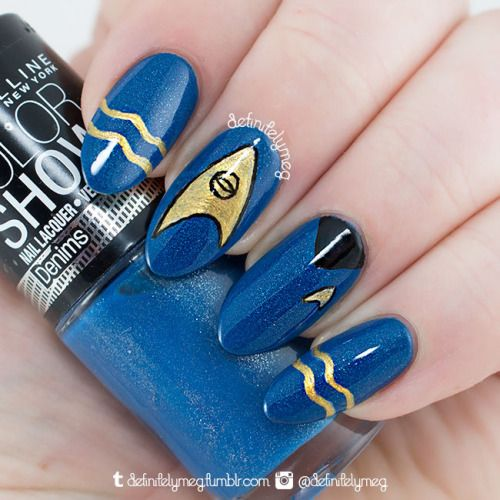 Eternail Polish — definitelymeg:   SPOCK My tribute to a great and...