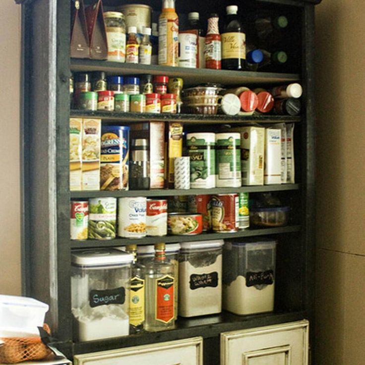 Best 25 Bookshelf Pantry Ideas On Pinterest Old Screen Doors Pantry Storage And Ikea Pantry