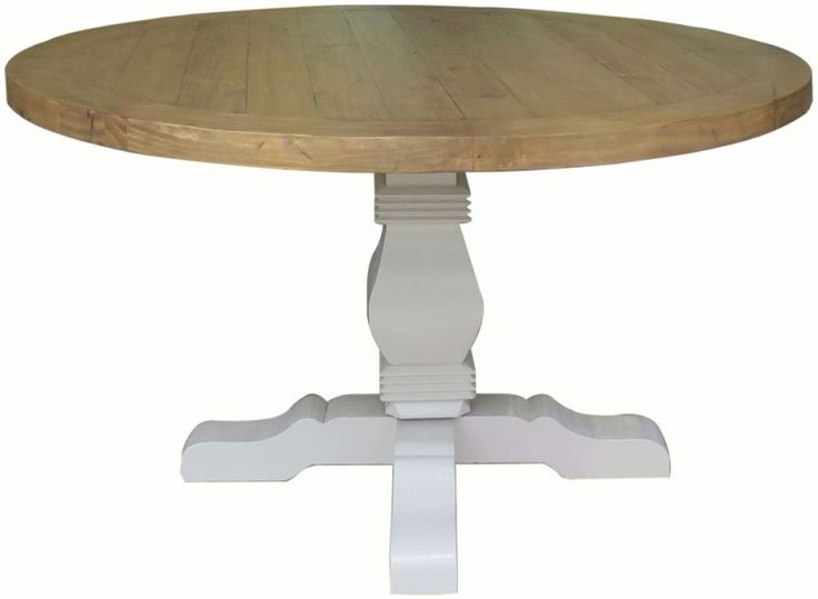 Melton Reclaimed Pine Pedestal Dining Table - Round