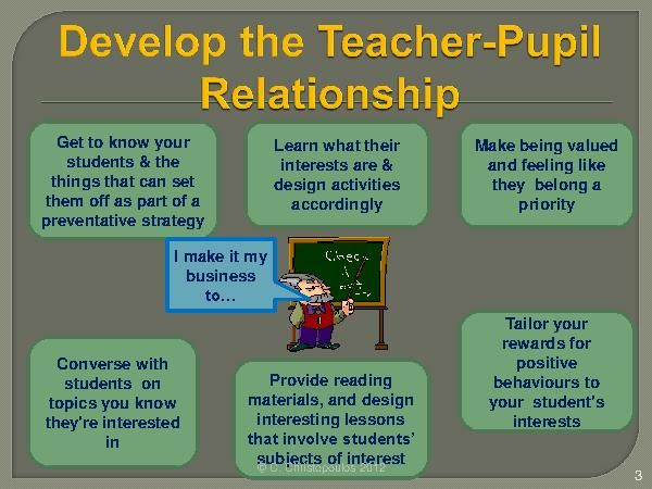 how to establish a positive relationship with students