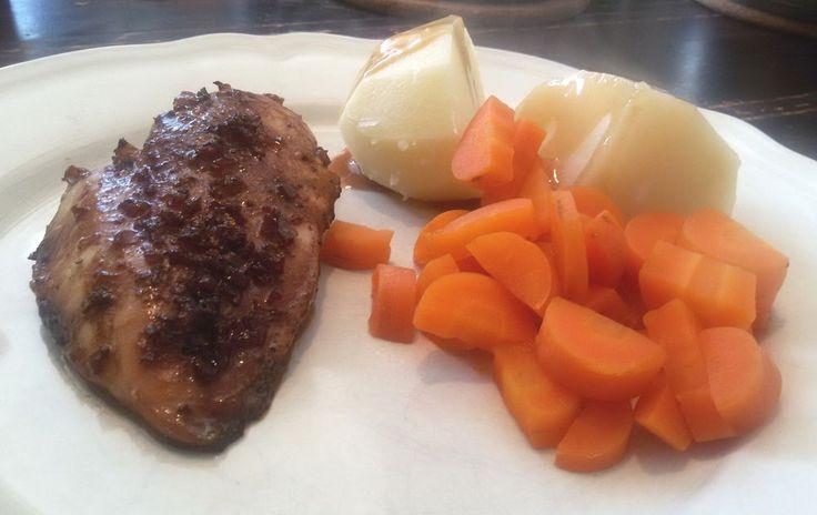 Zoete knoflookkip uit de oven - Het keukentje van Syts