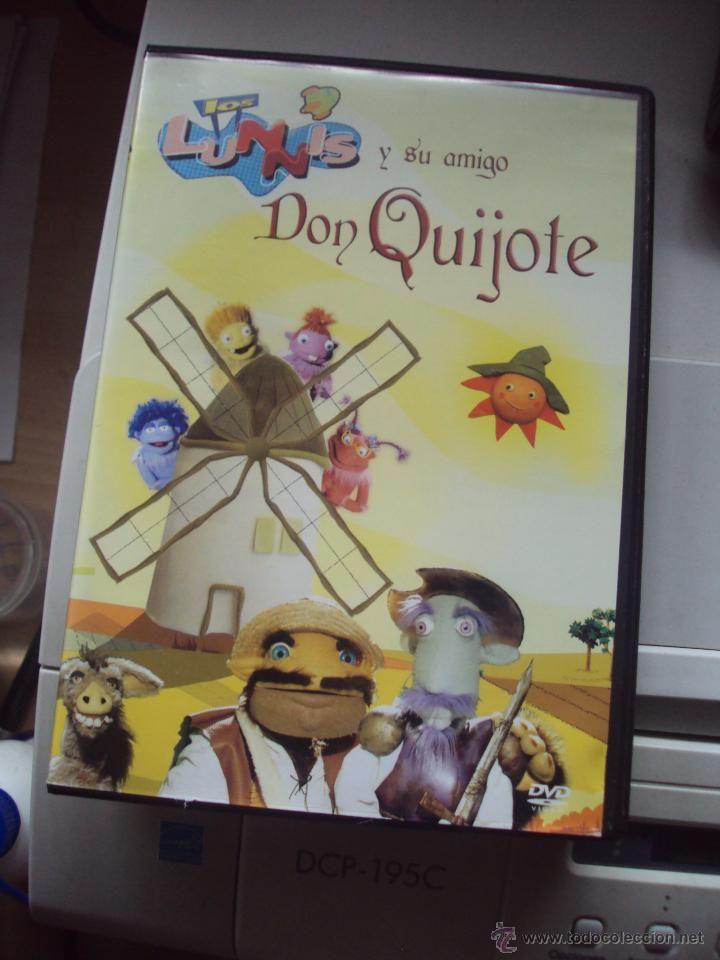 los lunnis y su amigo don quijote de tve - Comprar Películas infantiles en DVD en todocoleccion - 53612896