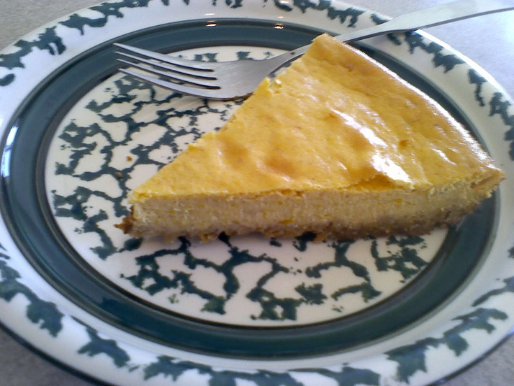 Maple Pumpkin Cheesecake With No Refined Sugar - Healthy Families for ...