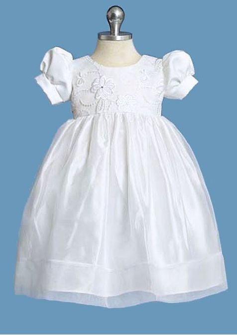 Make baptism day of your #baby special day & memorable with this #girlsbaptismdress .