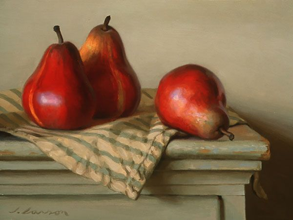 """""""Red Bartlets"""" [pears] Jeffrey T. Larson"""