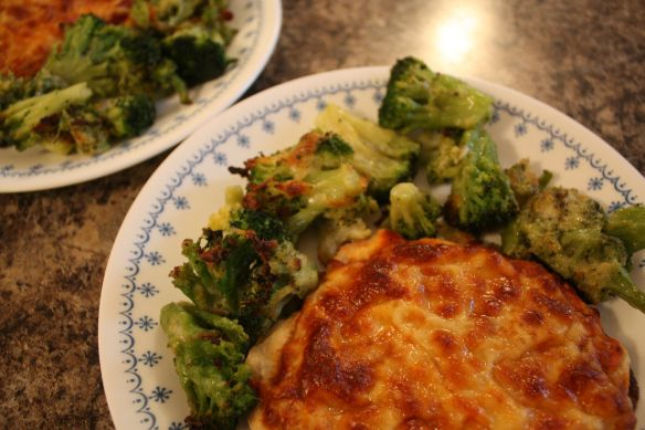 Roasted Frozen Broccoli | Favorite Recipes | Pinterest | Frozen ...