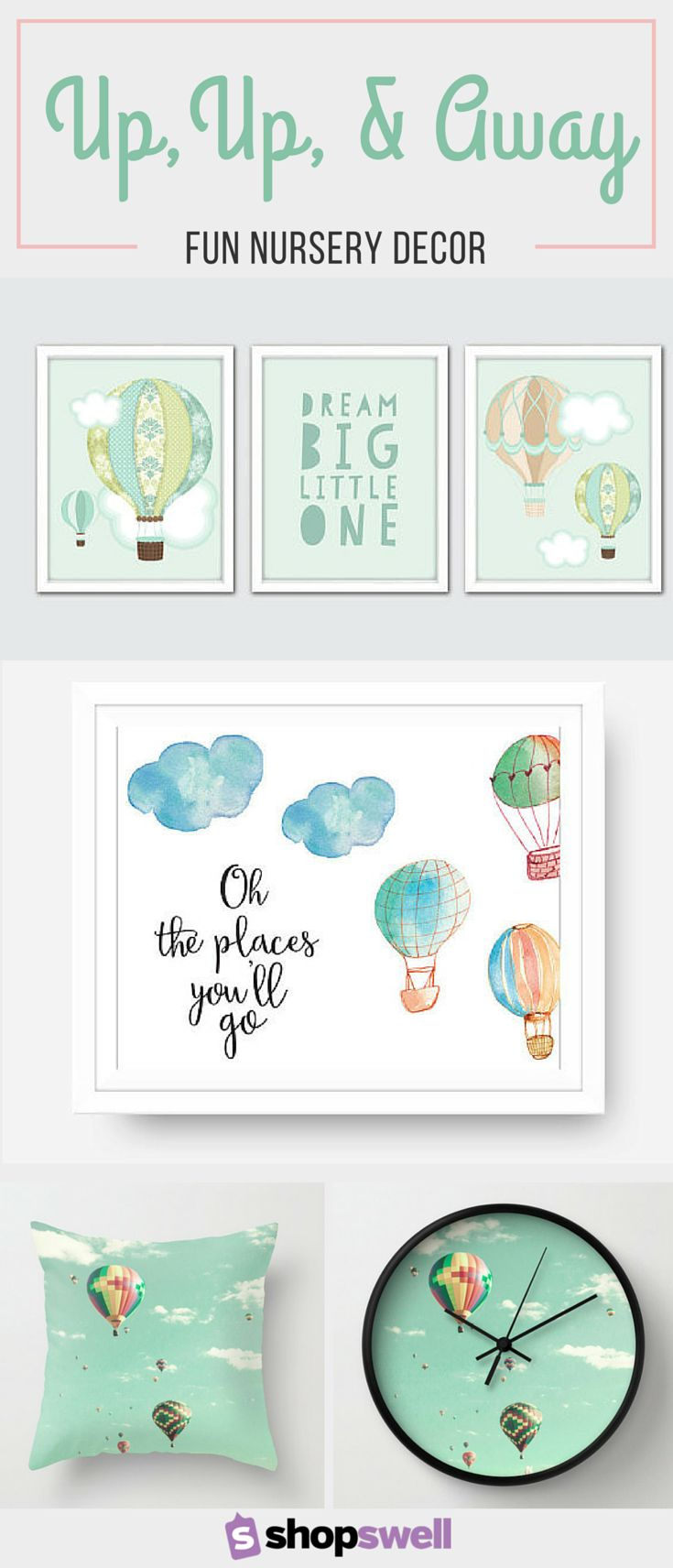 If you're looking for a gender neutral design for your baby's nursery, these hot air balloon decor ideas might just be the inspiration you need for your baby's new room.