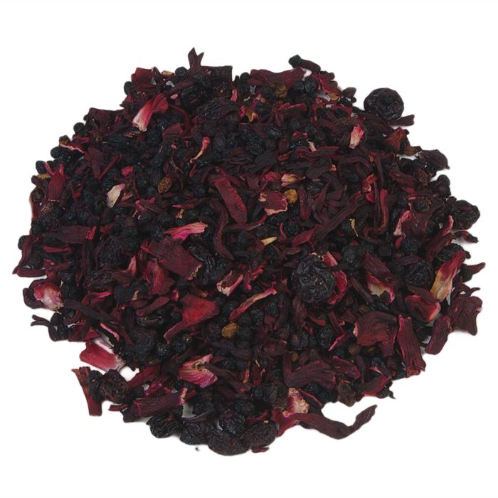 RODE GRUTTEN | Rode Grutten is niet zomaar een aromatische vruchtenmix - deze thee mag met recht een klassieker onder de vruchtentheeën genoemd worden. De fruitige combinatie van frambozen, aardbeien en kersen met een vleugje room zal elke liefhebber van vruchtenthee gelukkig maken. |