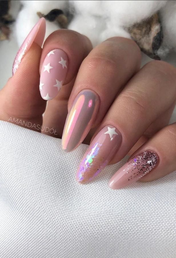 Mar 16, 2020 – 49+Beautiful Acrylic Almond Nail Art Design for Spring Nails – Lily Fashion Style – – #49Beautiful #Acryl…
