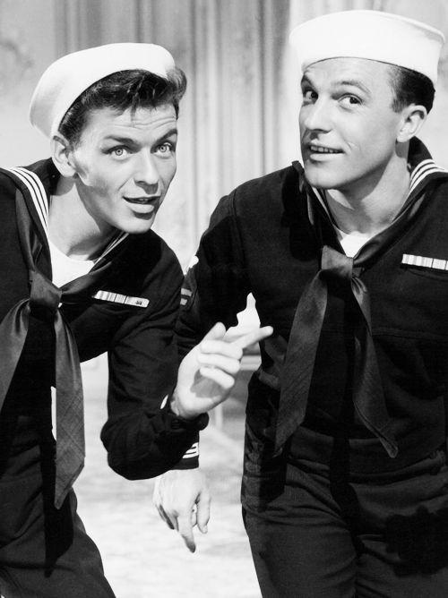 Frank Sinatra & Gene Kelly in Anchors Aweigh (1945)