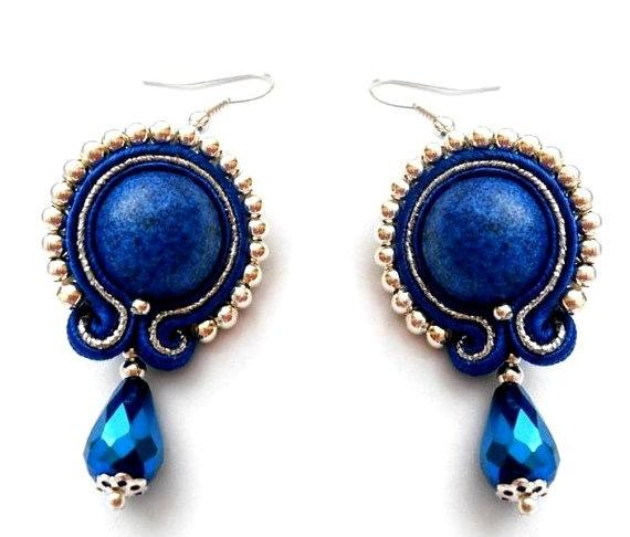 #soutache earrings :)