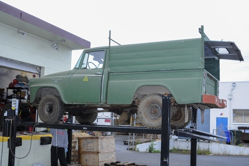 International Scout Parts - Project 1960/61 B120