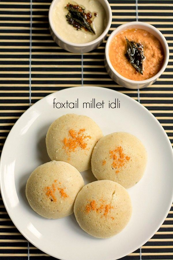 okra idli or thinai idli or foxtail millet idli recipe with step by step photos - light, fluffy, steamed cakes made with foxtail millet and rice.    my kids love idlis in any form. they love having