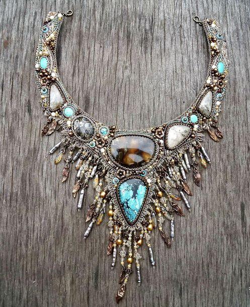 Beautiful jewelry by Guzel Bakeeva | Beads Magic