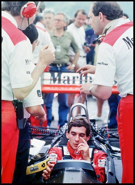 SPEED: 1988 Ayrton Senna McLaren Honda