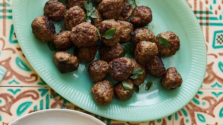 Meatballs with Mint Recipe | Bon Appetit