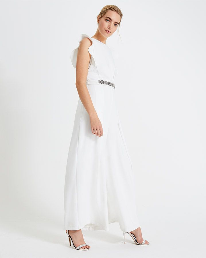 cf528396eccb Phase Eight Victoriana Bridal Jumpsuit Cream   HIGHSTREET BRIDAL in ...