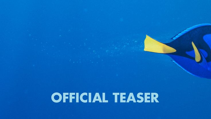 Finding Dory - Official US Teaser Trailer | She just kept swimming...Check out the brand new teaser trailer for Disney/Pixar's Finding Dory, in theatres June 17, 2016!