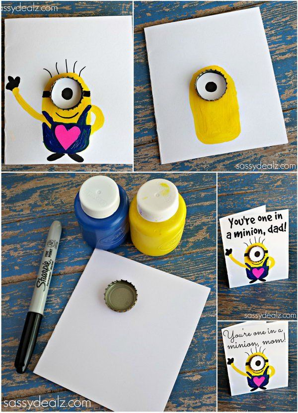 DIY You're one in a million , Dad Father's Day Card. Father's day is looming! What a better way to surprise him give this adorable you're one in a million card to make him filled with pride.