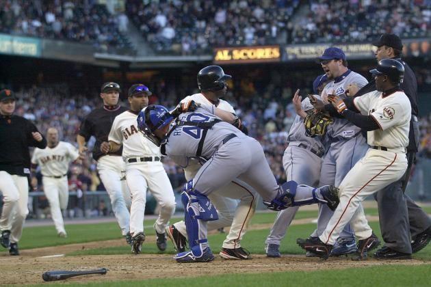 Top 10 Moments in Giants-Dodgers Rivalry   Bleacher Report