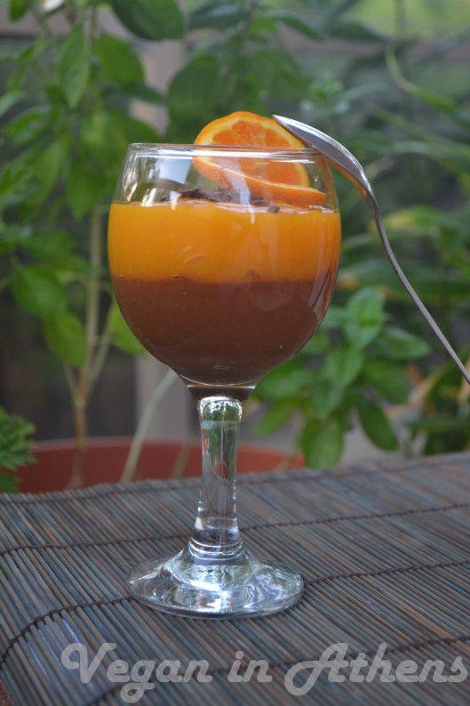 i-rena: Διπλή κρέμα πορτοκάλι και σοκολάτα....vegeterians