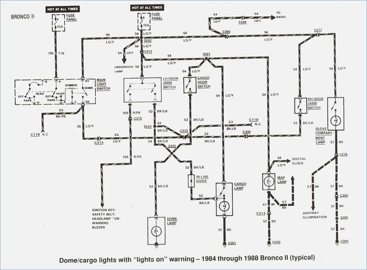 ford ranger wiring by color 1983 1991 readingrat 1986 ford