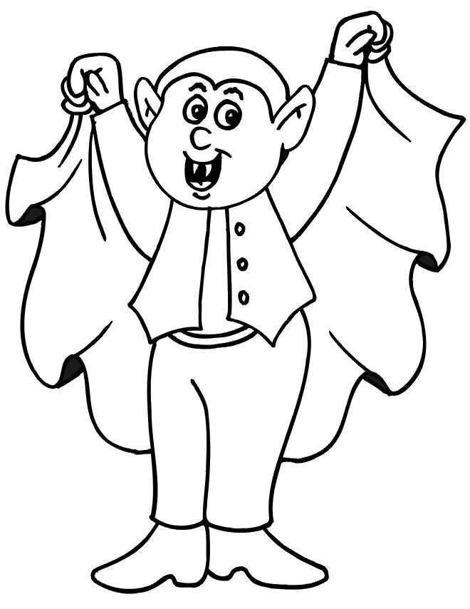 56 Best Halloween St Patrick S Printable S For Kids Images On Dracula Coloring Pages
