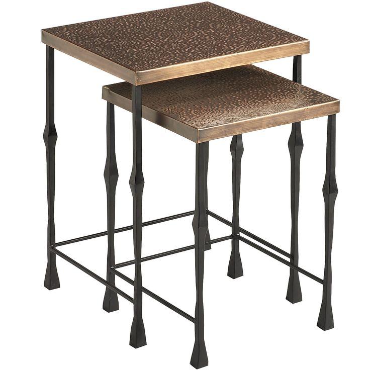 Bronze Zira Nesting Tables   Outdoor