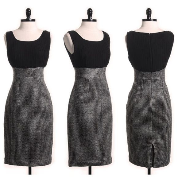 """Selling this """"Houndstooth sheath dress by Sparrow 4 Anthro SZ S"""" in my Poshmark closet! My username is: k8iebee. #shopmycloset #poshmark #fashion #shopping #style #forsale #Anthropologie #Dresses & Skirts"""