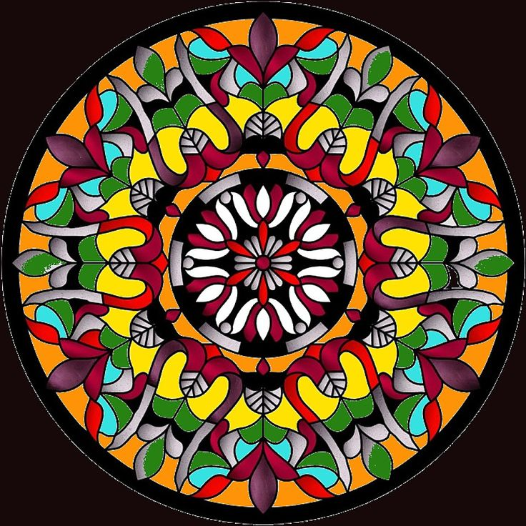17 Best images about Stained Glass Round windows on