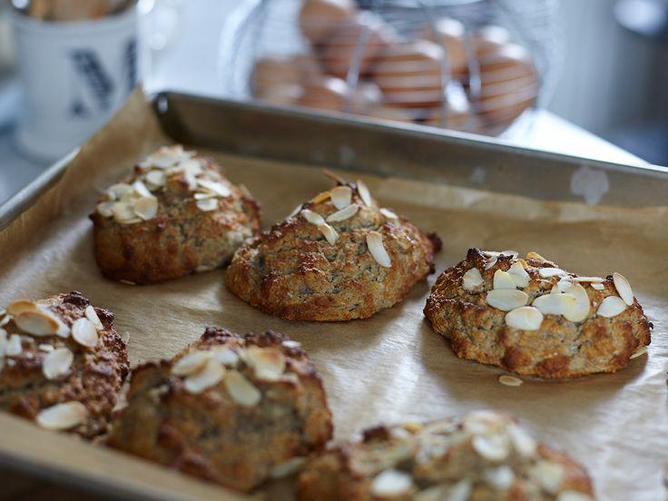 Leilas bananscones | Recept från Köket.se