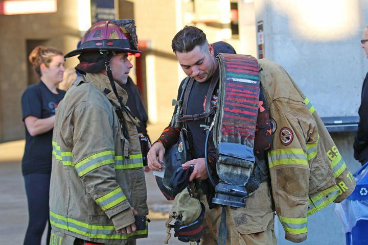 I Shoot Fire Firefighter Sling Backpack Fashion