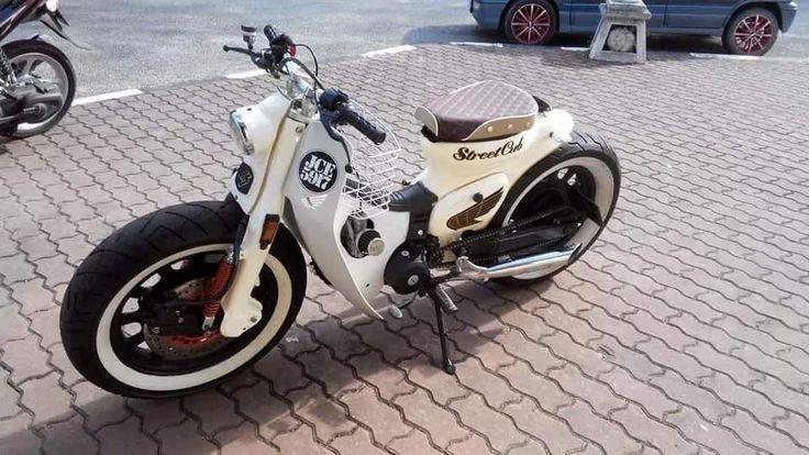 Modifikasi Honda C70 Bobber