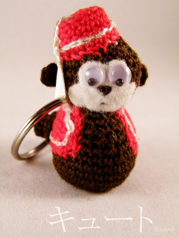 Amigurumi Monkey Keychain : 17 Best images about Chunky monkey! on Pinterest