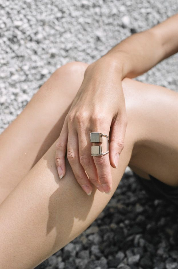 The Cube Ring by Wednesday Jewellery