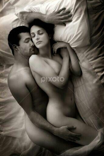 Nude Sleeping Couple 112