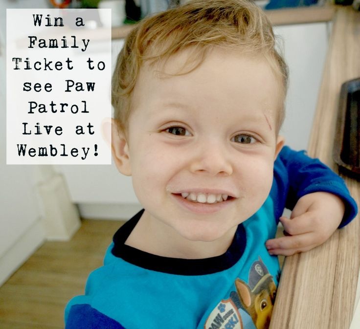 Hands up who loves the PAW Patrol? Fancy taking your family to see their live show at Wembley? Simply enter this giveaway. Best of luck!