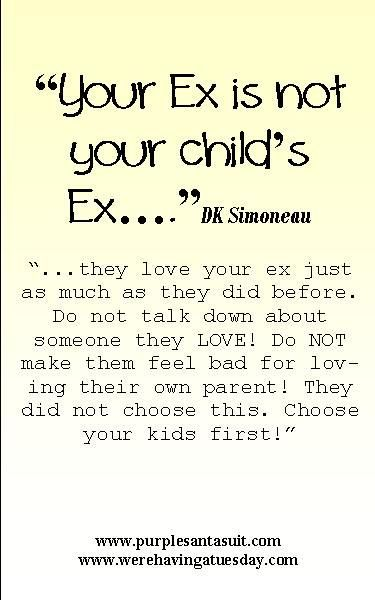 """Your Ex is not your child's ex"" - Read the book that helps kids that go back and forth between divorced parents!"