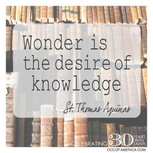 St.ThomasAquinas, Knowledge