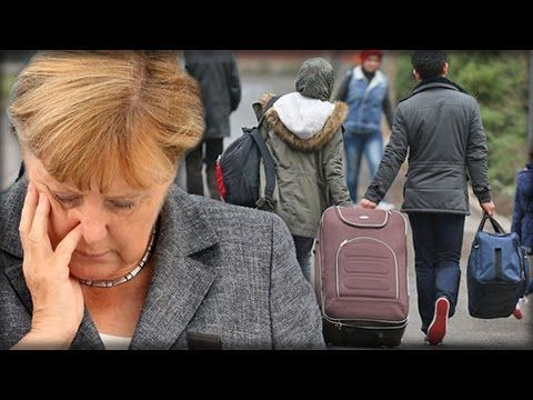 GERMAN ASYLUM SEEKERS REFUSING TO WORK BECAUSE THEY ARE MERKEL'S GUESTS - YouTube