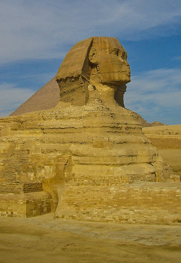 Great Sphinx of Giza - Cairo, Egypt