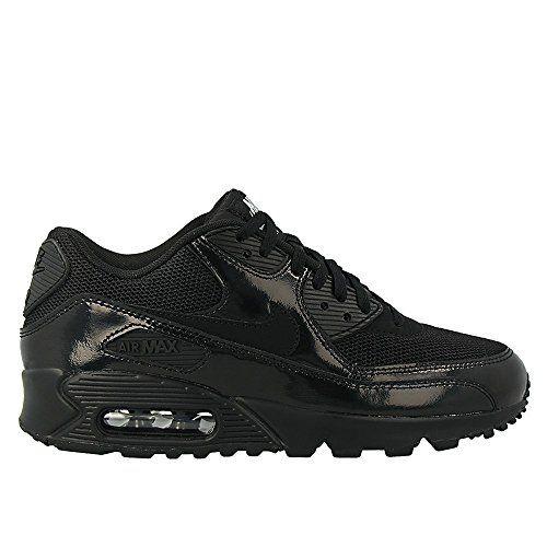 Nike - Wmns Air Max 90 Prem - 443817002 - Farbe: Schwarz - Größe: 35.5 - http://uhr.haus/nike/35-5-eu-nike-wmns-air-max-90-prem-damen-sneakers