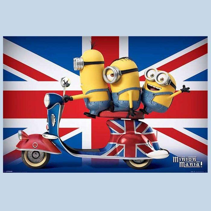 Poster Minions London