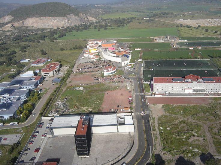 Universidad del Futbol desde el aire