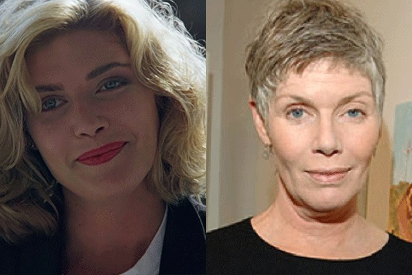 Kelly McGillis - known, of course, for her roles in the 1980s films Witness & Top Gun