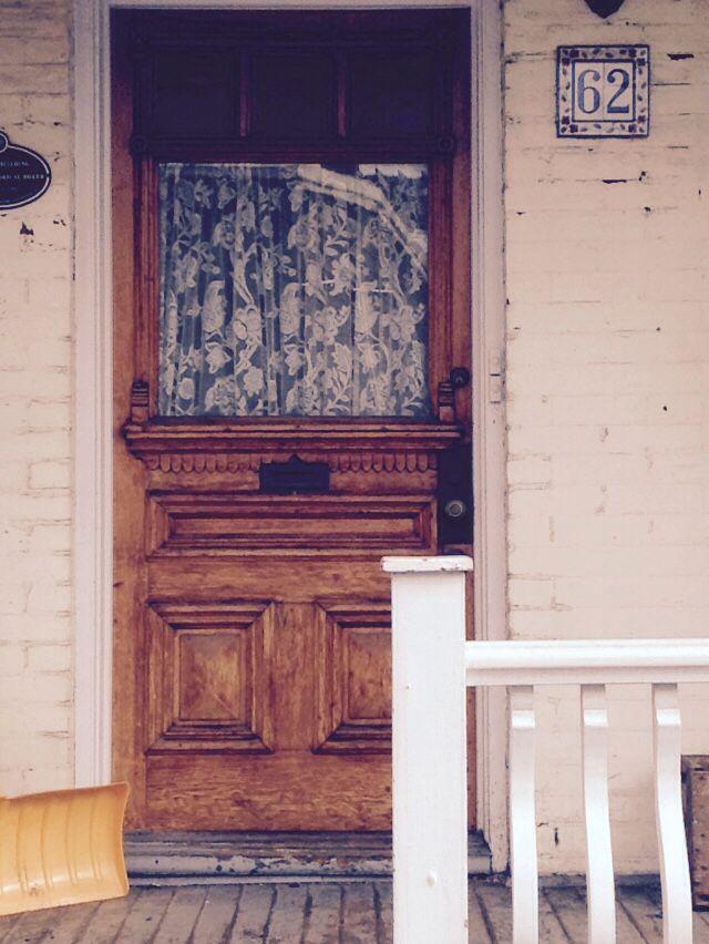 lovely door in Little Portugal Toronto
