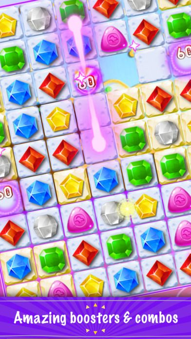http://buff.ly/2cTMDP5 Dig path by clearing away group 3 or more diamonds to reach score #diamond, #crush, #fund