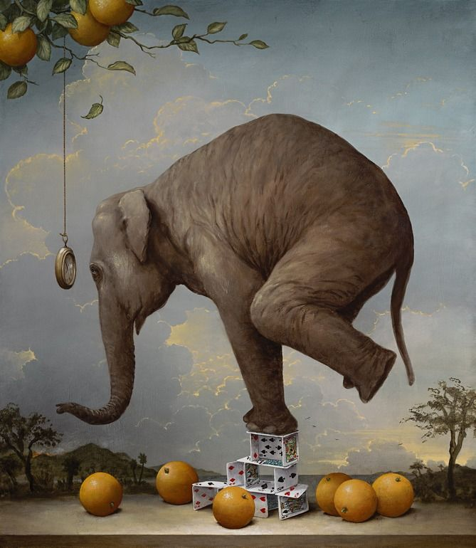 Saatchi Online Artist: Kevin Sloan; Giclée Print, 2013, Printmaking Consequences of Hypnosis Limited Edition Print