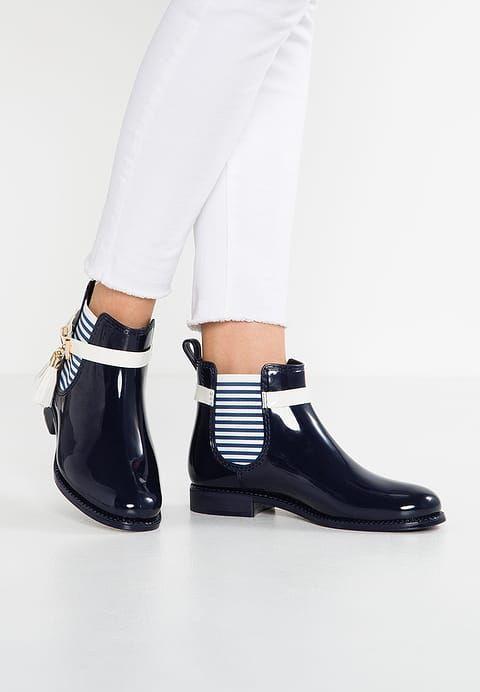 Chaussures Andre JAMES - Bottes en caoutchouc - blue/navy bleu: 50,00 € chez Zalando (au 06/03/17). Livraison et retours gratuits et service client gratuit au 0800 915 207.