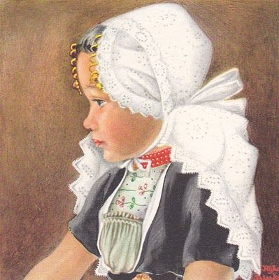 Rijka Bleeker : Girl from the island 'Walcheren'